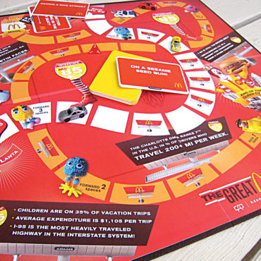McDonalds Board Game