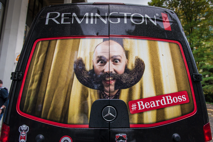 World Beard & Moustache Championships brought to you by Remington