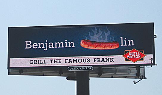Franks billboard WEB
